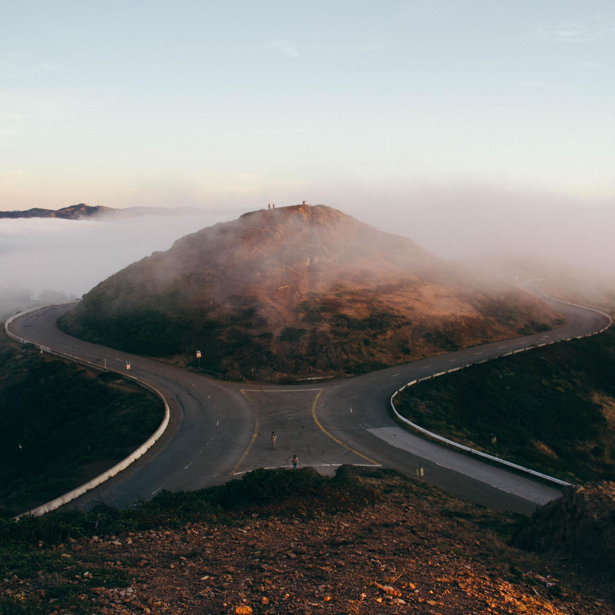 Drive Around The Mountain by pine  watt